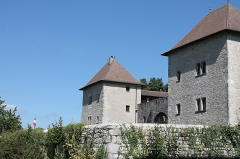 Château - Français:   Façade du château de Clermont.