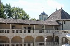 Château - Français:   Galeries intérieures du château de Clermont.