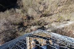 Pont suspendu de la Caille (également sur commune d'Allonzier-la-Caille) -  Belvédère des Ponts @ Ponts de la Caille
