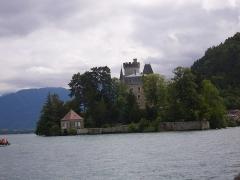 Domaine de Châteauvieux -  le lac d'annecy