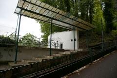 Funiculaire d'Evian-les-Bains à Neuvecelle - Funiculaire d'Évian-les-Bains - Station Hôtel Splendide