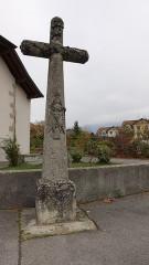 Croix de carrefour dite Croix de Verrières - Français:   Neydens, Croix