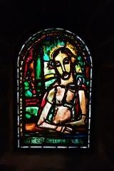 Eglise Notre-Dame-de-Toute-Grâce - Georges Rouault (1871-1958) -  Flagellation (vitrail)