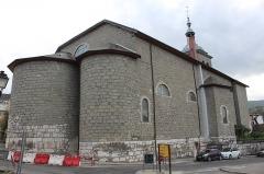 Eglise Sainte-Agathe - Français:   Église Sainte-Agathe de Rumilly, Haute-Savoie.