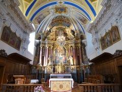 Eglise Saint-Nicolas-de-Véroce -  l'eglise de st nicolas de veroce