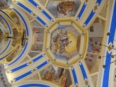 Eglise Saint-Nicolas-de-Véroce -  le plafond de l'eglise de st nicolas de veroce