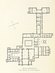 Abbaye de Mélan -  View this map on the BL Georeferencer service. Image taken from: Title: