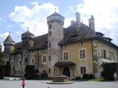 Château de Ripaille et ancienne chartreuse de l'Annonciade-delà-les-Monts -  74200 Thonon-les-Bains, France