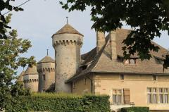 Château de Ripaille et ancienne chartreuse de l'Annonciade-delà-les-Monts -  Thonon-les-Bains