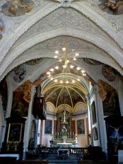 Eglise Saint-Hippolyte -  Haute-Savoie Thonon-Les-Bains Eglise Saint-Hypolite Nef