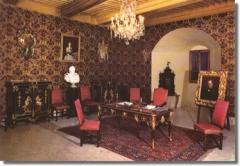 Château de Thorens, appelé par erreur Château de Sales -  Château de Thorens - Le bureau du comte Camille de Cavour: