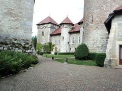 Château de Thorens, appelé par erreur Château de Sales -  Interno del Castello