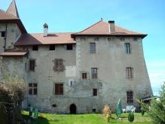 Prieuré -  Aile nord du bâtiment conventuel