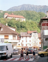 Château - English:   Faverges, view to the château