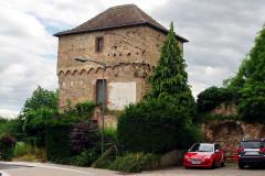 Tour des Bouchers - Deutsch: Metzgerturm, Turm aus der Stadtmauer von Lauterbourg
