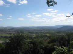 Site du Mont-Saint-Michel - English: St. Jean Saverne (Alsace), view from St. Michaels Mount