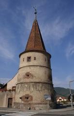 Ancienne enceinte fortifiée urbaine - Deutsch: Tour des fripons aus dem Jahr 1535 in Ammerschwihr
