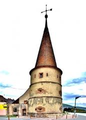 Ancienne enceinte fortifiée urbaine - Français:   La tour des fripons, à Ammerschwihr. Haut-Rhin
