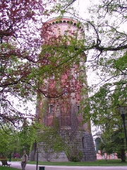 Château d'eau - English: Old water tower in the town of Colmar in Alsace, France.