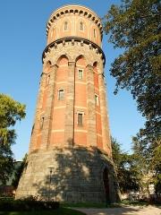 Château d'eau - Deutsch: Turm im Stadtpark, Colmar, Frankreich.