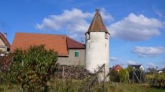 Enceinte fortifiée urbaine -  La tour des cigognes