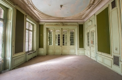 Ancien château Burrus -  Au rez-de-chaussée du manoir