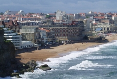 Hôtel du Palais - English: Biarritz - Miramar and Hôtel du Palais