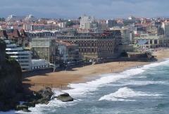 Hôtel du Palais - English: Biarritz - Miramar and Hôtel du Palais