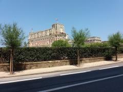 Hôtel du Palais - Français:   Hôtel du Palais: vue depuis l\'avenue de l\'Impératrice.