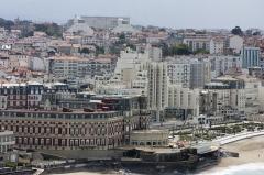 Hôtel du Palais -  Palace Hotel, Surf Miramar, Victoria Surf, on the main beach of Biarritz.
