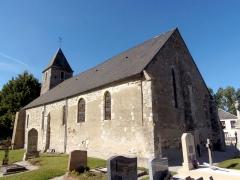 Eglise de Saint-Symphorien-les-Buttes - Français:   Saint-Amand (Normandie, France). L\'église Saint-Symphorien de Saint-Symphorien-les-Buttes.