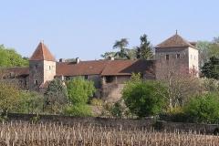 Château de Gevrey -  Château de Gevrey-chambertin - vue sud