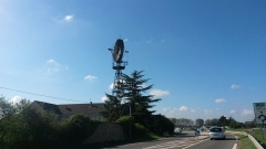 Eolienne - English: Wind turbine, Courville-sur-Eure