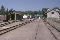 Ligne à voie ferrée métrique le Blanc-Argent (ou B.A.) sur le tronçon Luçay-le-Malé-Argy - Deutsch: BA X 213 in Valençay
