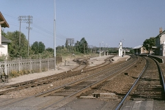 Ligne à voie ferrée métrique le Blanc-Argent (ou B.A.) sur le tronçon Luçay-le-Malé-Argy - Deutsch: Gare de Gièvres