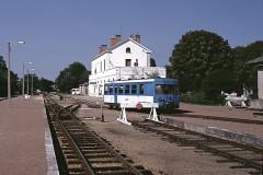 Ligne à voie ferrée métrique le Blanc-Argent (ou B.A.) sur le tronçon Luçay-le-Malé-Argy - Deutsch: Bahnhof Romorantin