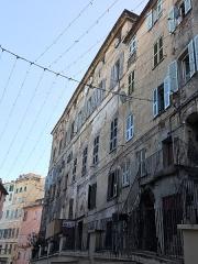 Immeuble dit Maison Castagnola - Italiano: Palazzo Castagnola visto dalla strada