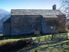 Eglise Santa Reparata - Corsu: Merusaglia, Rustinu (Corsica) - Chjesa Santa Riparata di Merusaglia, faccia à l'ambarscia