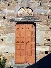 Eglise Santa Reparata - Corsu: Merusaglia, Rustinu (Corsica) - Chjesa Santa Riparata di Merusaglia, porta primaria