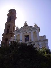 Eglise Saint-André - Corsu: A ghjesgia Sant'Andrìa di Boziu