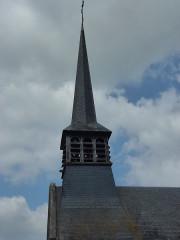 Eglise Saint-Léger - English: Saint-Léger-de-Rôtes (Eure, Fr) église Saint-Léger MH, flèche