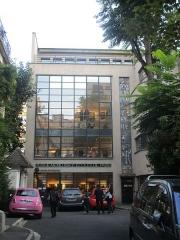 Immeuble - Français:   Musée Mendjisky - Écoles de Paris, square de Vergennes (Paris XVe).