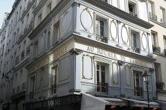 Ancien restaurant Le Rocher de Cancale - Deutsch: Restaurant Le Rocher de Cancale in der Rue Montmartre n° 78 im 2. Arrondissement von Paris (Île-de-France/Frankreich)