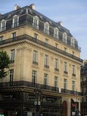 Immeuble - Français:   4 place de l\'Opéra (Paris).