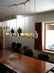 Maison de Louis Carré - English: Furnishings and lighting fixtures in Louis Carré House, by Alvar Aalto, France