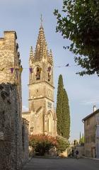 Eglise paroissiale Saint-Roch - Deutsch: Kirche in Aiguèze, Frankreich