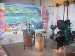 Centrale hydroélectrique numéro 1 du Saut du Tarn - English: Atelier de taille de limes
