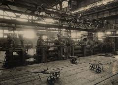 Centrale hydroélectrique numéro 1 du Saut du Tarn - English: Rolling mill in Saut du Tarn steelworks