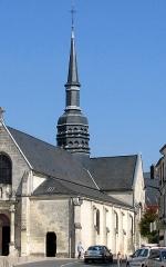 Eglise de Villers-Cotterêts -  Villers-Cotterêts (Aisne, France) -   Église Saint-Nicolas.  .     .