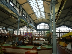 Halle - English: Market hall of Angoulême, Charente, SW France